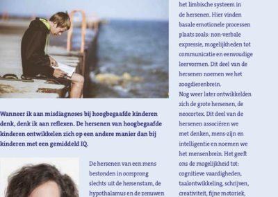 artikel S57 - Hoogbegaafdheid, misdiagnoses en reflexintegratie